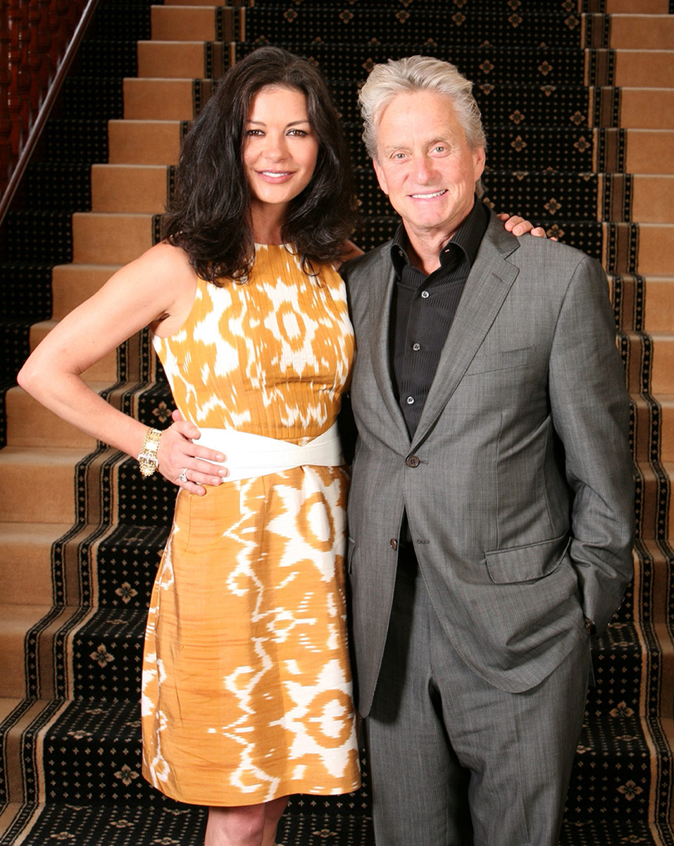 Catherine Zeta Jones & Michael Douglass for Cardiff Mansion House / Cardiff City Council