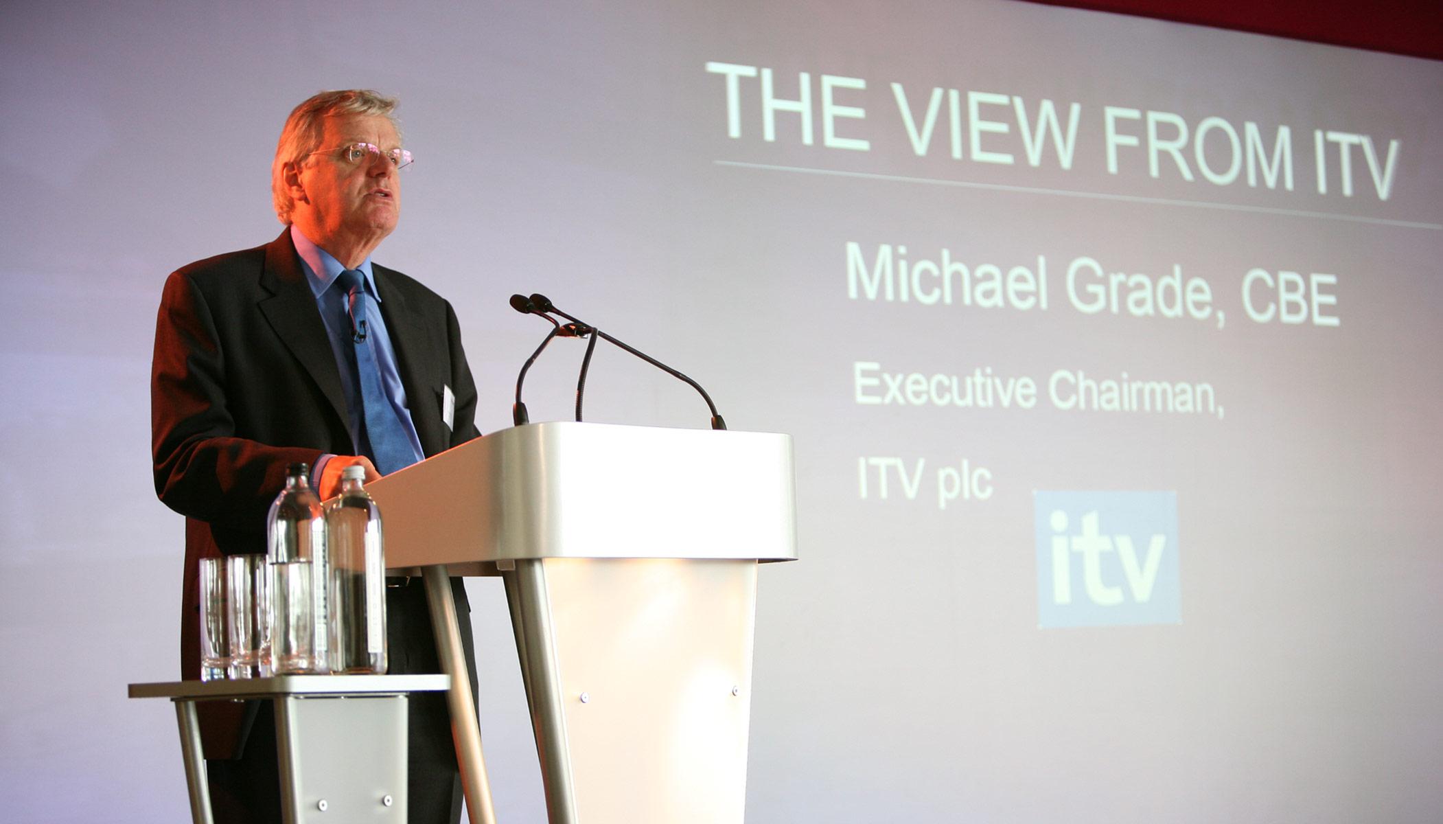 Michael Grade, CBE / Ofcom Press Event