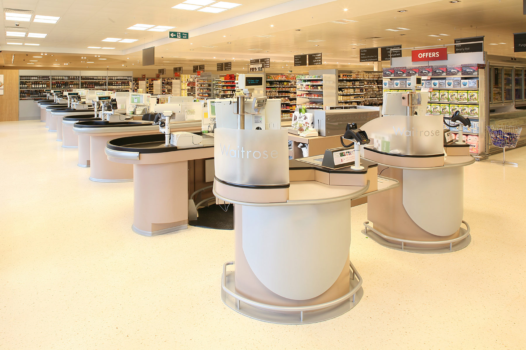 Waitrose Pontprennau Mark 5 Interior / SLJ Media / Waitrose