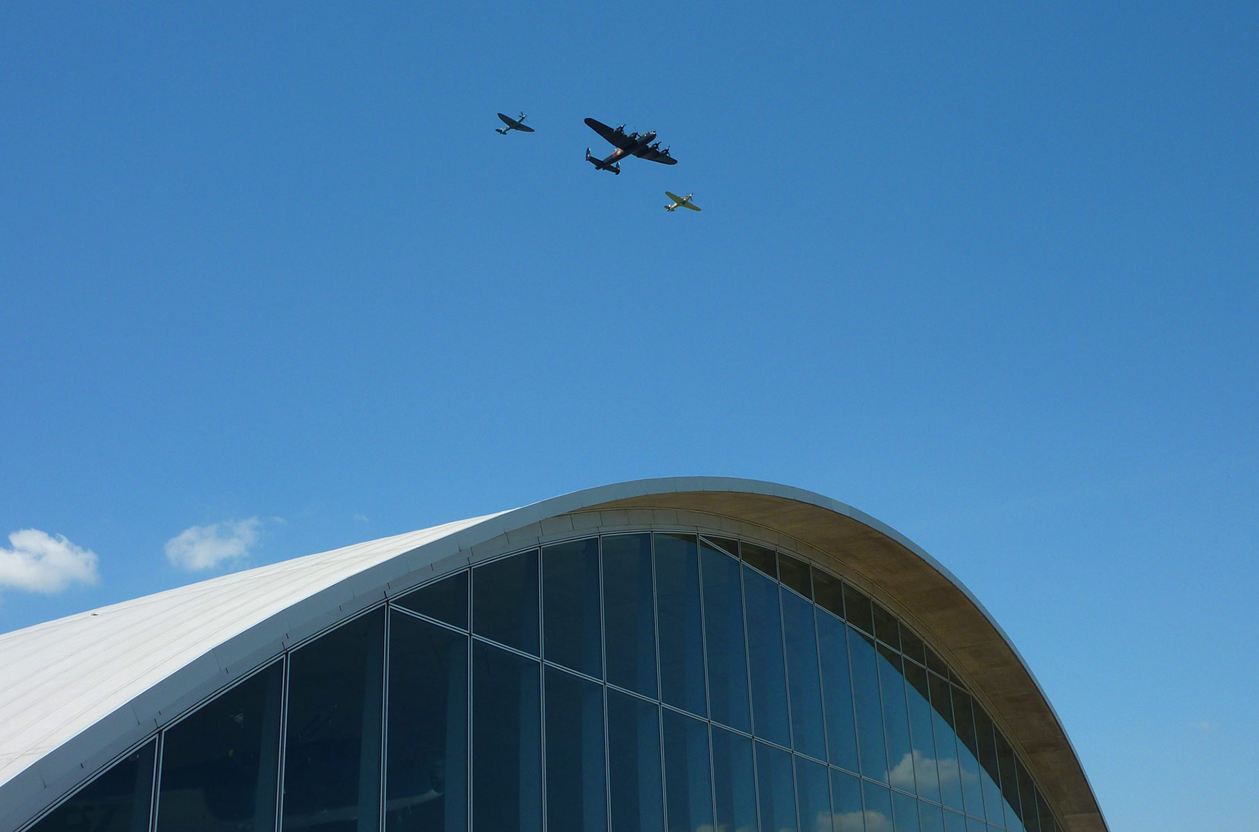 Imperial War Museum Duxford by Foster and Partners